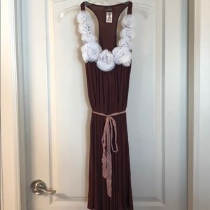 Prairie NY maroon dress